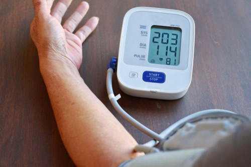 blood pressure can be taken in both nursing home and in-home care