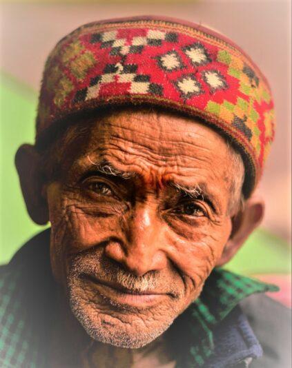 Pictorial illustration of elder abuse